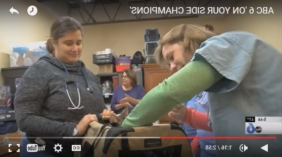 On April  Wsyx Featured The Ohio State University Veterinary Medical Center As Their 100th On Your Side Champion During The Segment Anchor Bob