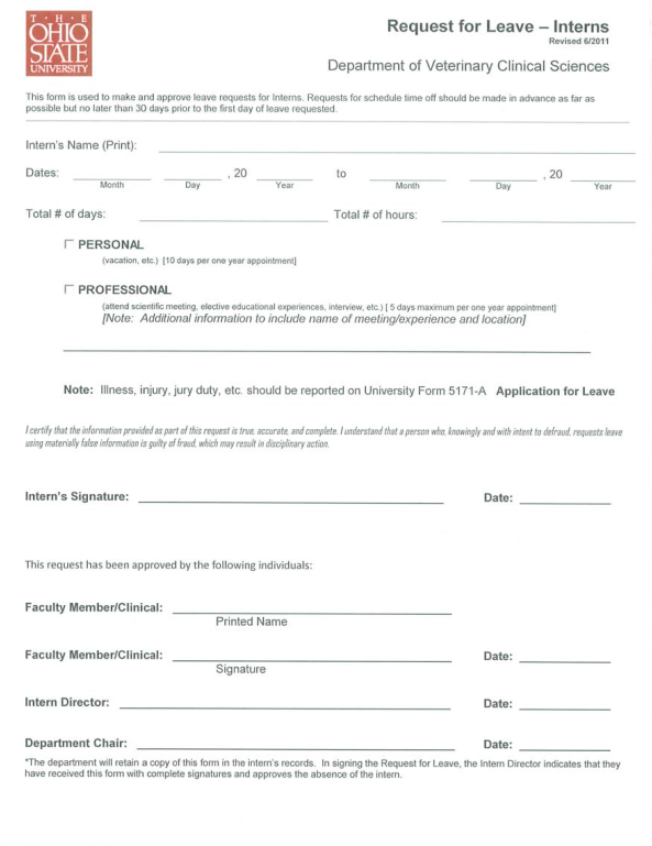 Sample Leave Form Personal Certification Fmla Faq Can An