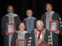 Honored faculty