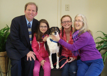 Cain has been adopted!