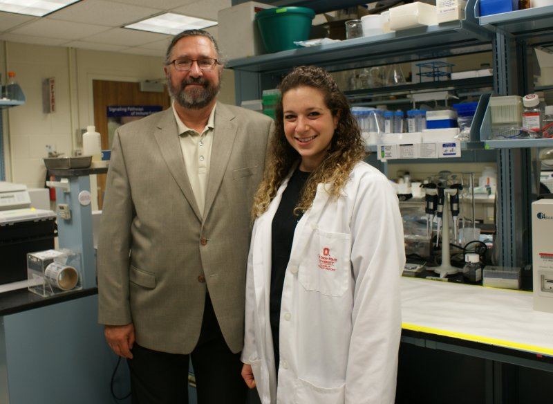 Dr. Thomas Rosol and Rachael Camiener