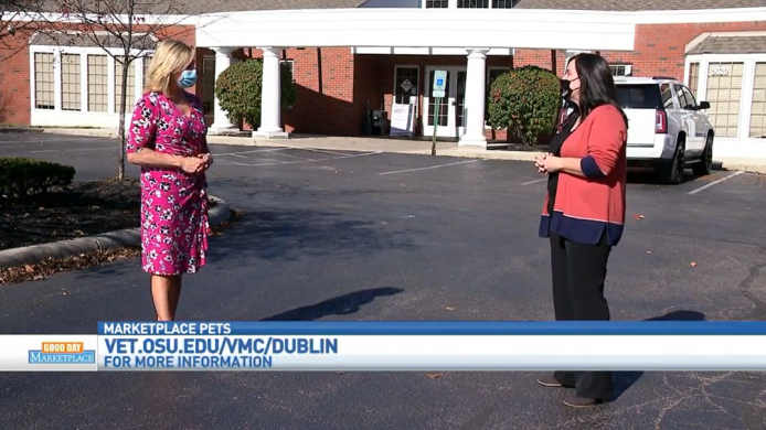 Ohio State Veterinary Medicine at Dublin featured on Good Day Marketplace